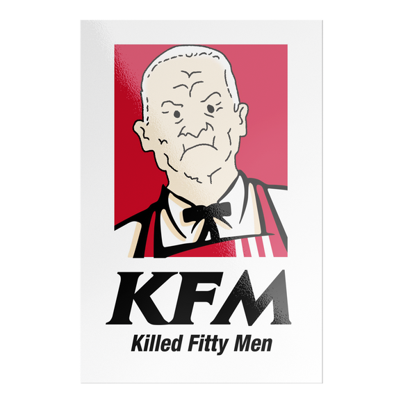 KFM Sticker - Killed Fitty Men