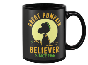 Great Pumpkin Believer Coffee Mug - Killed Fitty Men