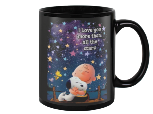 Charlie Brown and Snoopy Love Forever Coffee Mug - Killed Fitty Men