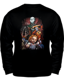 Classic Movie Horror Villains Wear - Killed Fitty Men