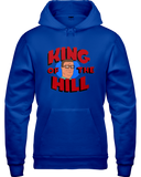 King Of The Hill Logo Head Hoodie - Killed Fitty Men
