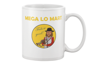 Mega Lo Mart Coffee Mug - Killed Fitty Men