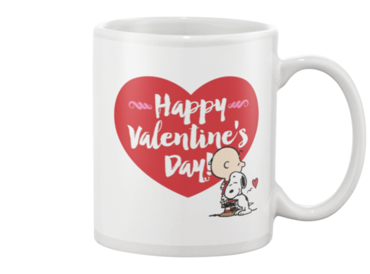 Snoopy Valentine's Day Coffee Mug - Killed Fitty Men