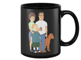King Of the Hill Family Coffee Mug - Killed Fitty Men