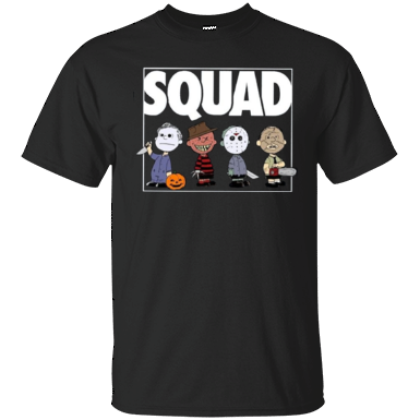 Charlie Brown Squad Goals Halloween Cotton T Shirt - Killed Fitty Men