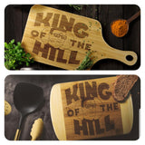 King Of The Hill  Picnic Wood Cutting Boards - Killed Fitty Men