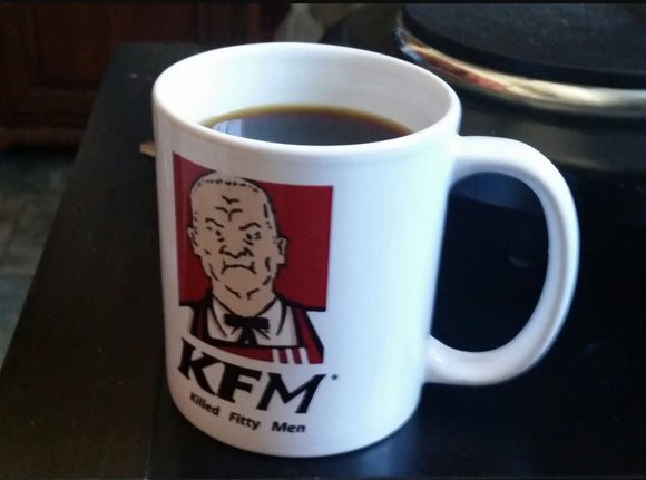Cotton Hill Killed Fitty Men Mug - Killed Fitty Men