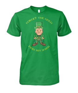 Cotton Hill Find My Shins! King Of The Hill St Patrick's Day Shirt - Killed Fitty Men