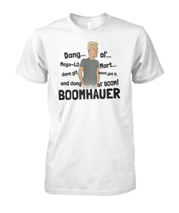 Boomhauer Tells About Mega Lo Mart King Of The Hill Shirt - Killed Fitty Men