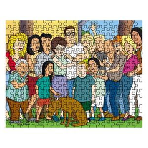 King Of The Hill All In The Family 252 Piece Jigsaw Puzzle - Killed Fitty Men