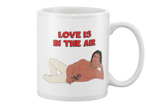 John Redcorn Love Is In The Air King Of The Hill Coffee Mug - Killed Fitty Men