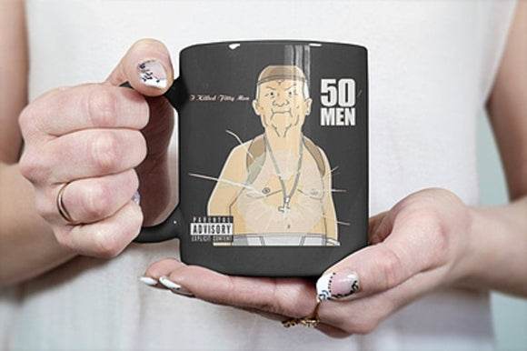 Cotton Hill 50 Men King Of The Hill Coffee Mug - Killed Fitty Men