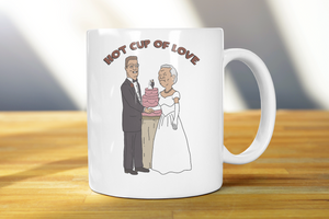 Hot Cup Of Love King Of The Hill Coffee Mug - Killed Fitty Men
