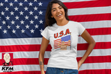 King Of The Hill American Flag USA Shirt - Killed Fitty Men
