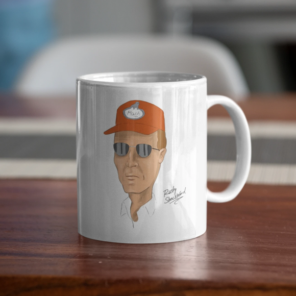 Rusty Shackleford Coffee Mug - Killed Fitty Men