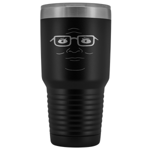 Hank Hill Face 30 Ounce Laser Etched Vacuum Tumbler - Killed Fitty Men