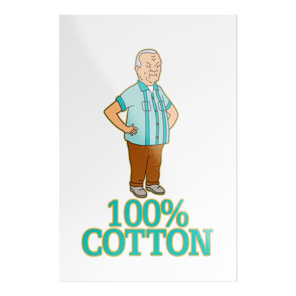 100% Cotton Sticker - Killed Fitty Men