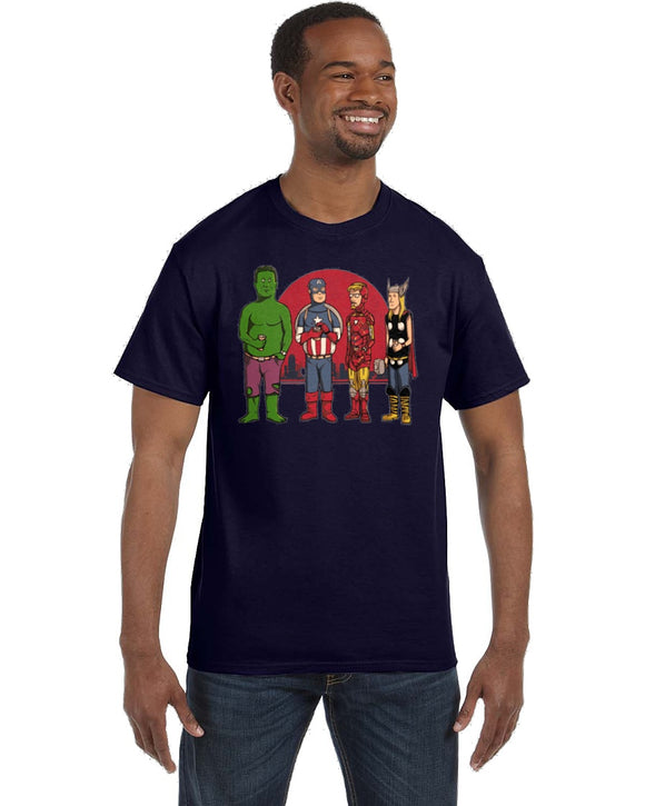 King Of The Hill Avengers T Shirt - Killed Fitty Men