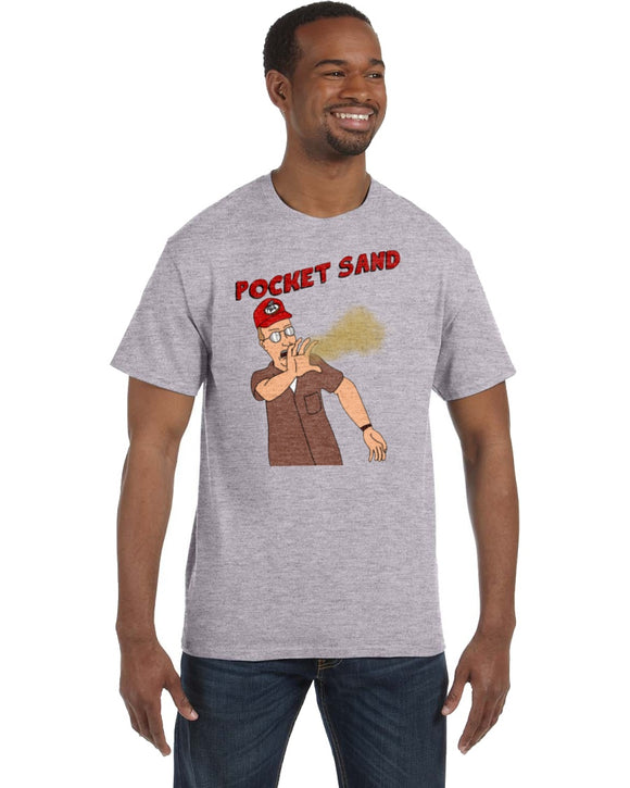 Dale Gribble Pocket Sand Defense King Of The Hill Shirt - Killed Fitty Men