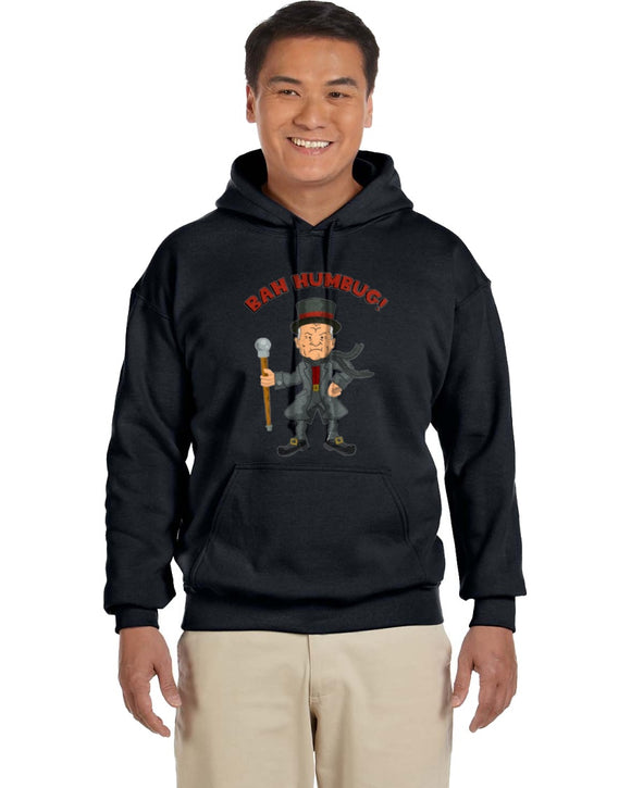 Bah Humbug! Cotton Hill King Of The Hill Hoodie - Killed Fitty Men