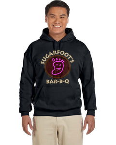 Sugarfoot's BBQ King Of The Hill Hoodie - Killed Fitty Men