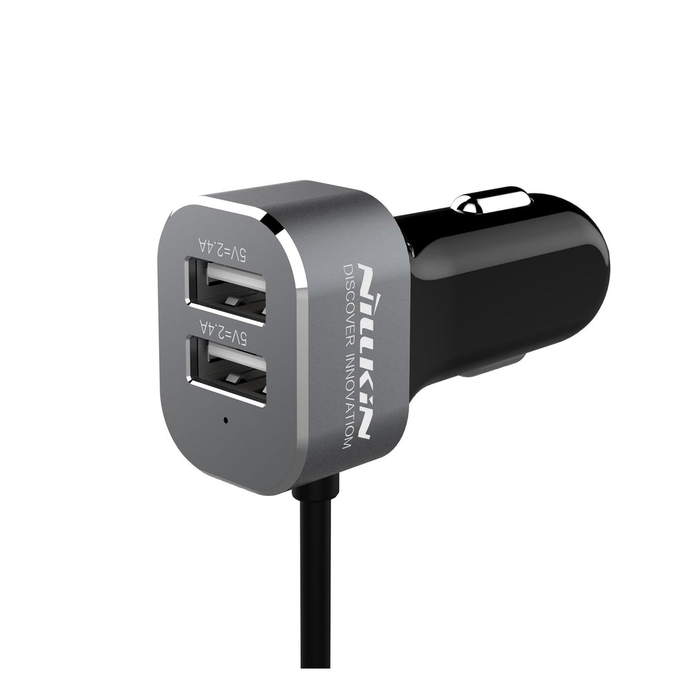 PowerShare Car Charger- 4-Port (QC 3.0 & USB Type C) 57W