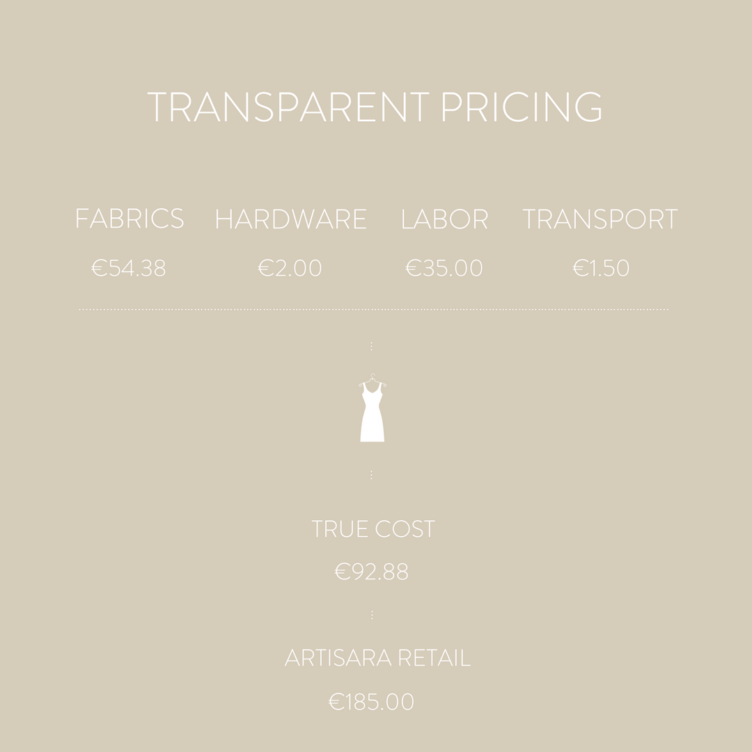 Adela Dress - Transparent pricing