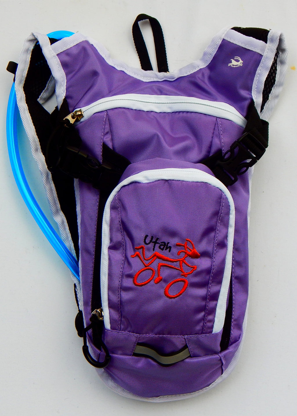Youth Hydration Pack - Lilac / Rust  UTAH Biker
