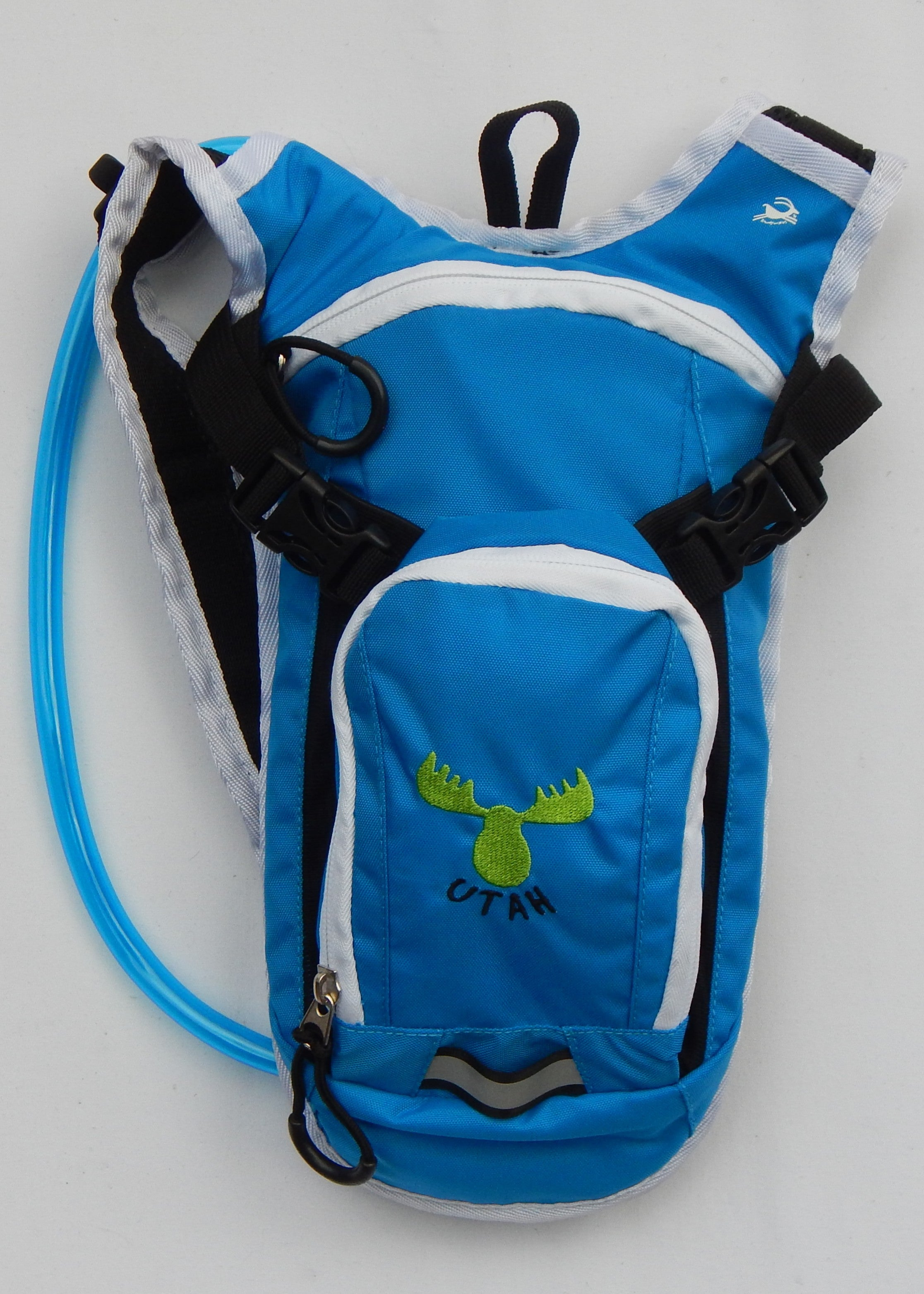 Youth Hydration Pack - Blue / Green UTAH Moose