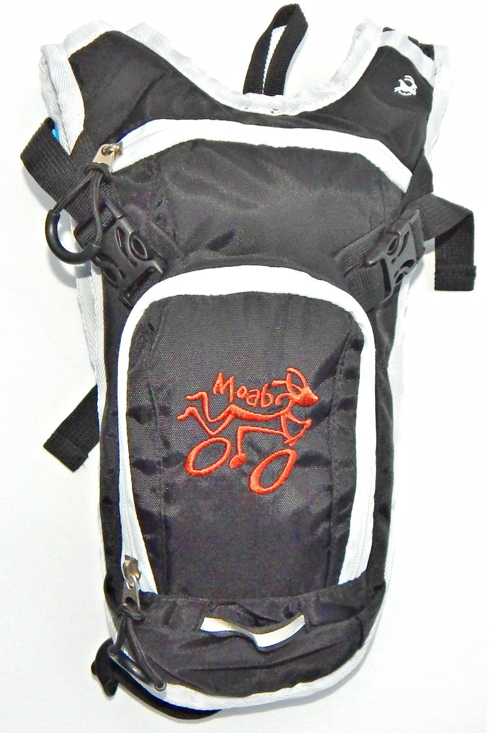 Youth Hydration Pack - Black / Rust MOAB Biker