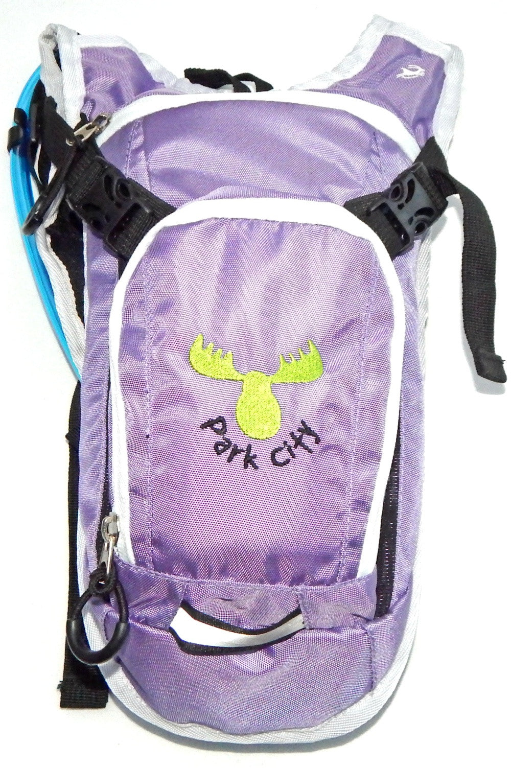 Youth Hydration Pack - Lilac / Green PARK CITY Moose