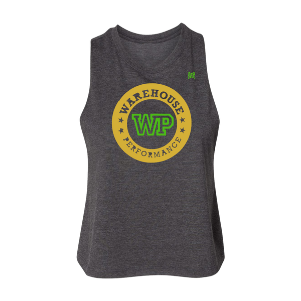 Warehouse Performance Women's Crop Tank