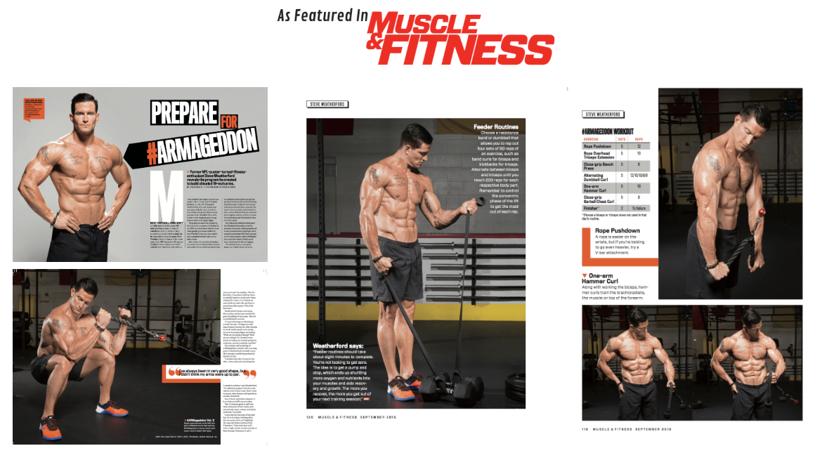 Featured in Mens Fitness