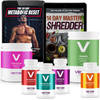 Metabolic Reset + Master Shredder + 6-Pack Supplement Bundle