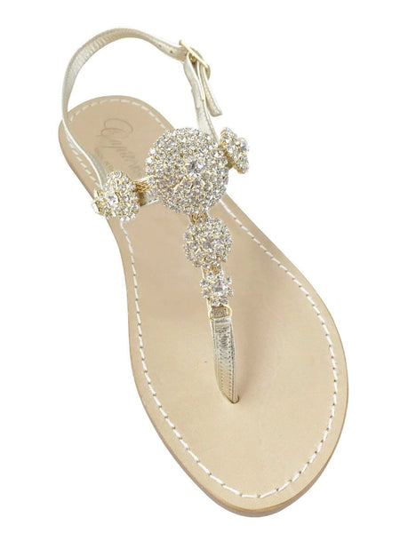 Pearla Capri Jeweled Sandal