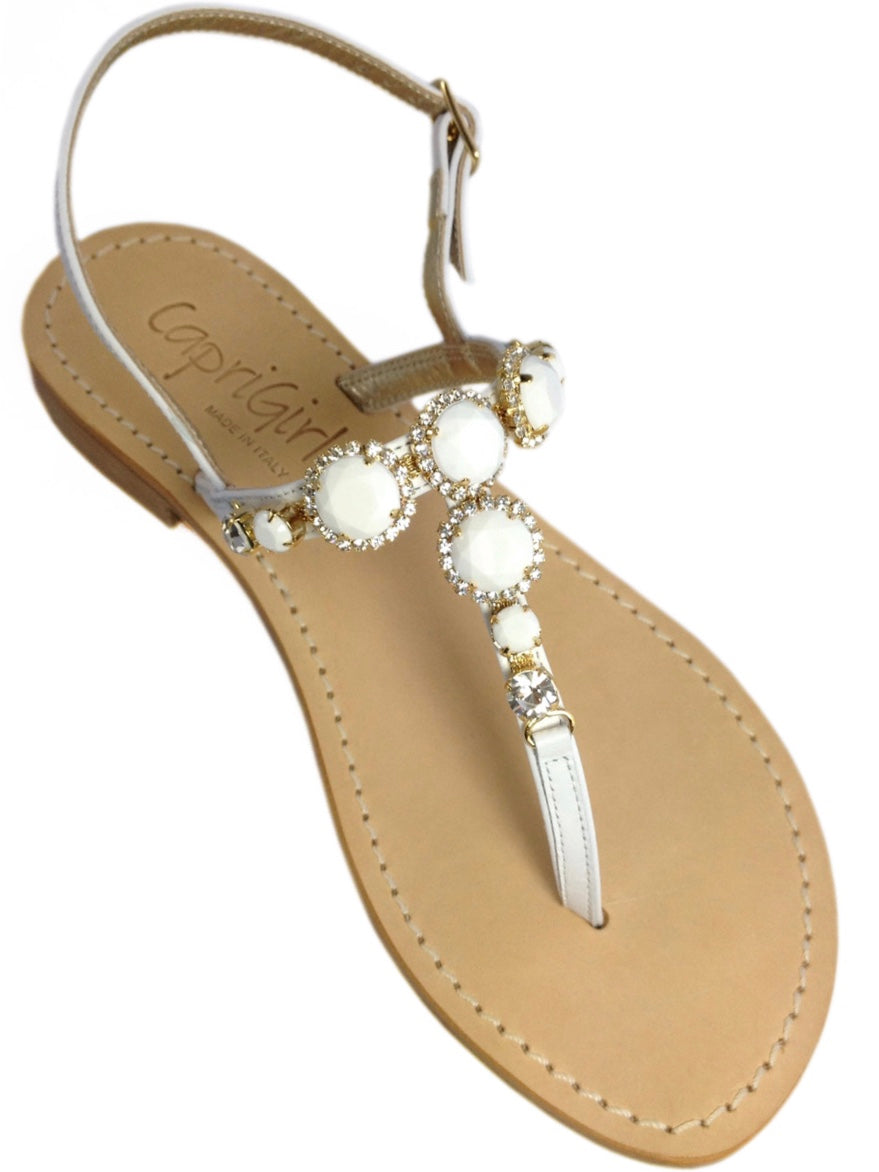 Bianca Capri Jeweled Sandal