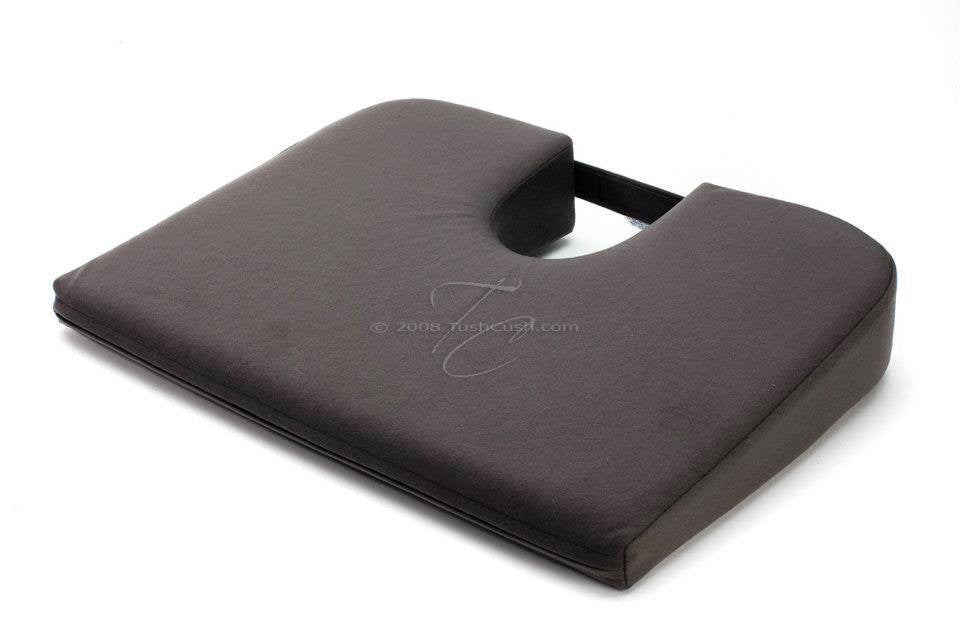 Extra Firm Car Cush Orthopedic Seat Cushion for Back Pain