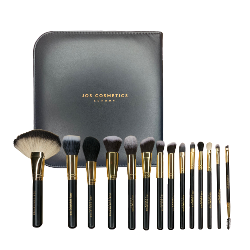 LUXURY 14 PIECE BRUSH SET - Jos Cosmetics London