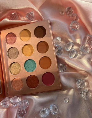 BE BOLD, BE YOU, BE PROUD EYESHADOW PALETTE - Jos Cosmetics London