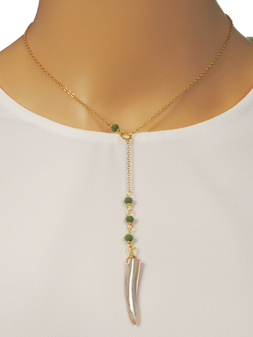 AGUAMARINA NECKLACE