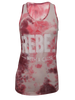 PINK TIE DYE REBEL WITH  A CAUSE T-SHIRT