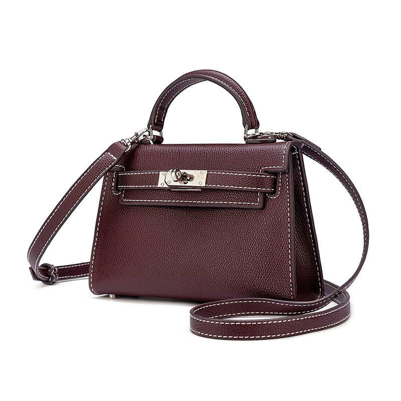 Ava Faux Leather Mini
