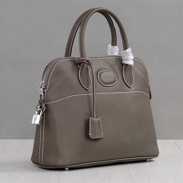 Kendyll Leather Round Top Handle Bag