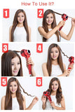 PROFESSIONAL AUTOMATIC HAIR CURLER