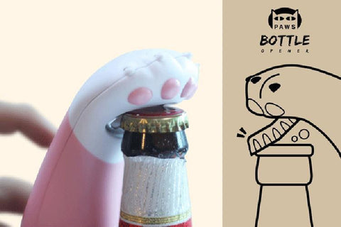 KITTY PAW BOTTLE OPENER