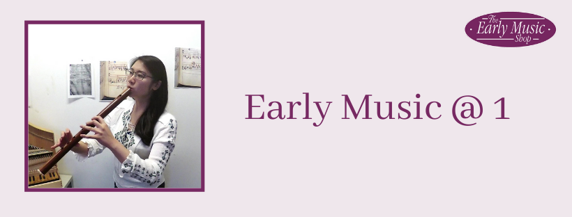 Early Music @ 1 - Monday 6th April