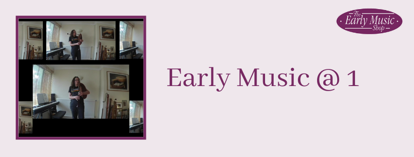 Early Music @ 1 - Tuesday 14th April