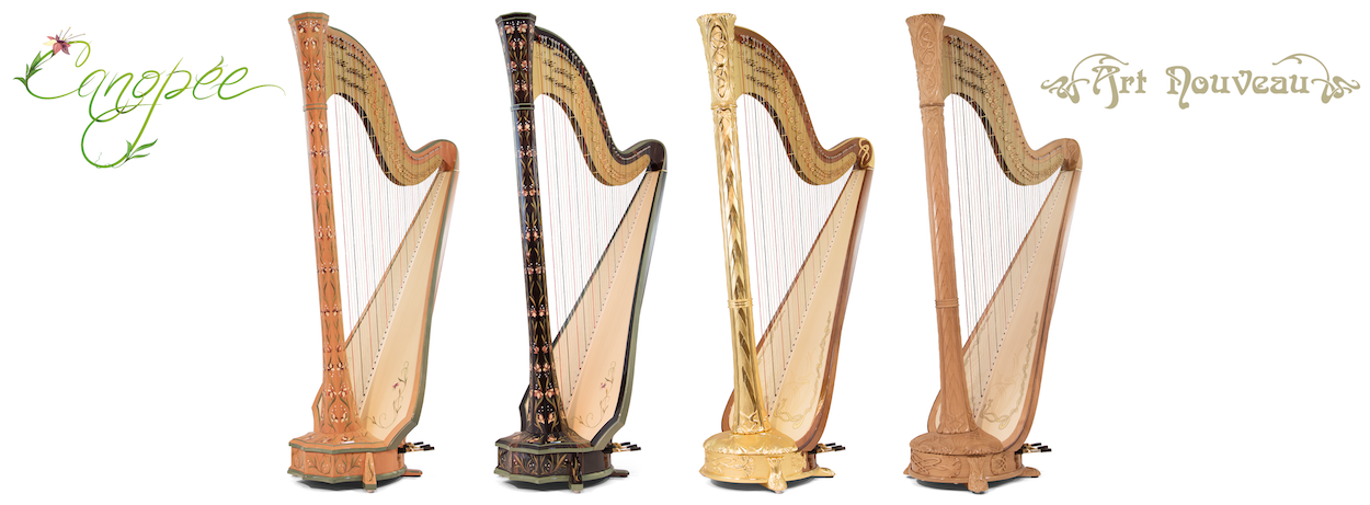 Camac Harps for sale at Early Music Shop