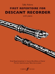 Adams: First Repertoire for Descant Recorder