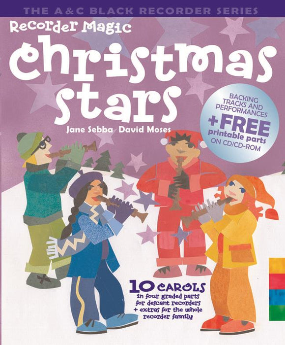 Sebba/ Moses: Recorder Magic Christmas Stars